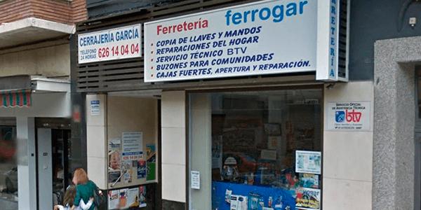 Roberto Cerrajero Ferreteria Ferrogar